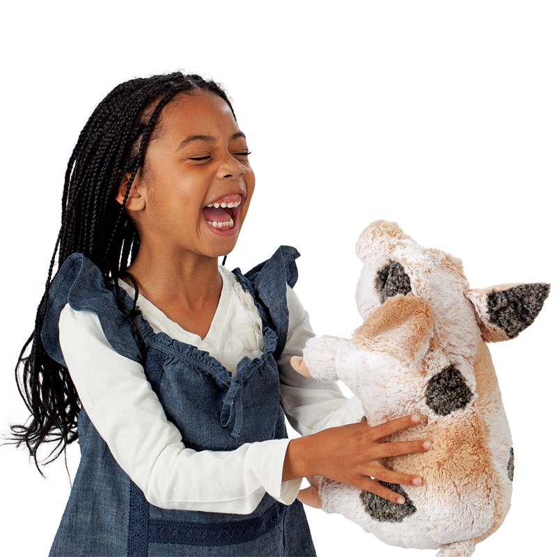 Folkmanis Grunting Pig Hand Puppet Folkmanis Puppets 2991